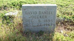 David Daniel Dave Decker