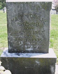 Mary Martha <i>Dunlap</i> Brechbiel
