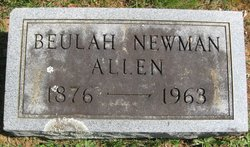 Beulah <i>Newman</i> Allen
