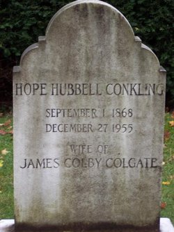 Hope Hubbell <i>Conkling</i> Colgate