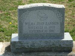 Wilma Jean Bannon