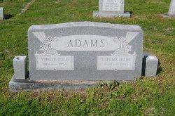 Thelma Irene <i>Prater</i> Adams Davis