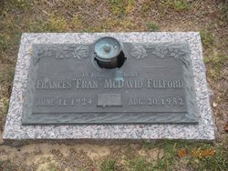Frances <i>McDavid</i> Fulford