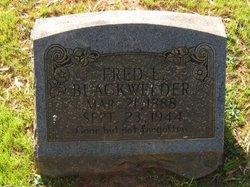 Fred Lee Blackwelder