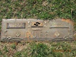 Woodrow Wilson Duff
