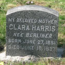Clara <i>Berliner</i> Harris