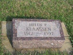 Helen P. Klaassen