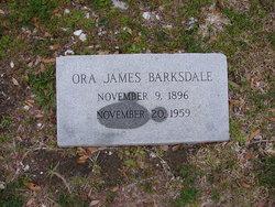 Ora <i>James</i> Barksdale