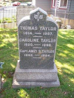 Capt Amzi S. Taylor