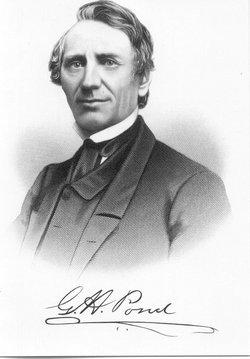 Rev Gideon Hollister Pond
