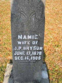 Mary Caroline Mamie <i>Lee</i> Bryson