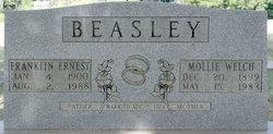 Mary Charlotte Mollie <i>Welch</i> Beasley