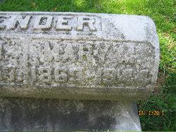 Mary <i>Richter</i> Bender