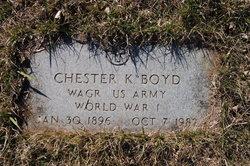 Chester King Boyd