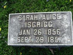 Sarah Alice Isgrigg