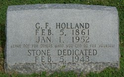 George F. Holland
