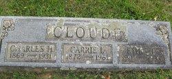Carrie Lee <i>Richards</i> Cloude