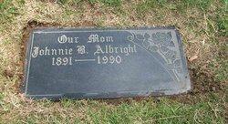 Johnnie B <i>Wessinger</i> Albright