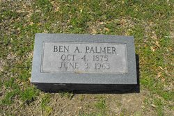 Benjamin Alfred Palmer