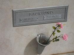 Mrs Hildur Eugenia <i>Nylen</i> Backlund