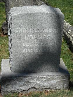 Edith Cheesborough Holmes