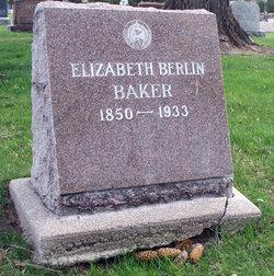 Elizabeth <i>Berlin</i> Baker