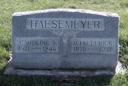 Caroline S <i>Reinking</i> Haesemeyer
