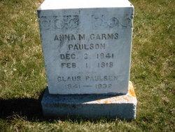 Anna M. <i>Garms</i> Paulsen