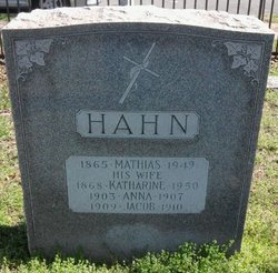 Katharine <i>Stern</i> Hahn