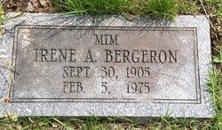 Irene A Rena <i>Gordon</i> Bergeron