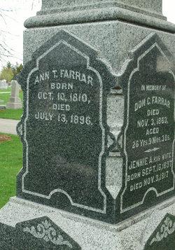 Ann T Farrar