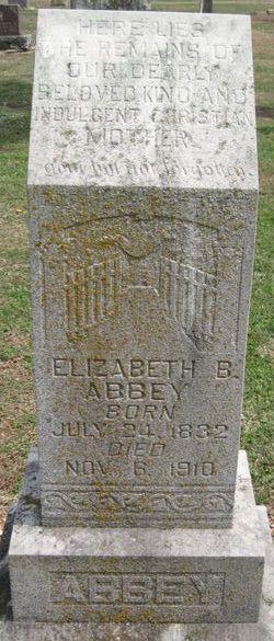 Elizabeth B Abbey