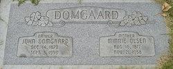 Minnie Fredina <i>Olsen</i> Domgaard