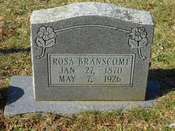 Mary Rosetta Rosa <i>O'Neal</i> Branscome