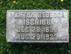 Martha Rebecca <i>Morris</i> Isgrigg