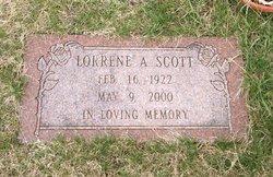 Lorrene A Scott