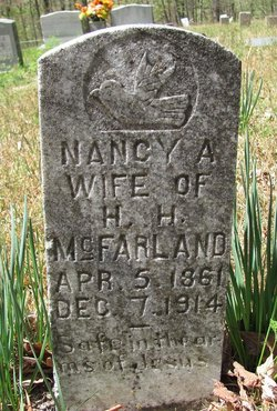 Nancy Ann <i>Edwards</i> McFarland