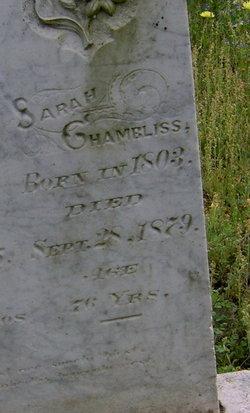 Sarah Sally <i>Huckaby</i> Chambliss