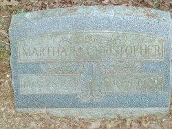 Martha Ann <i>Meals</i> Christopher
