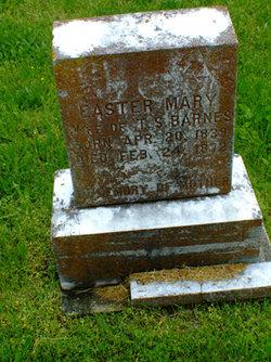 Easter Mary <i>Eddings</i> Barnes
