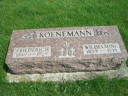 Wilhelmine <i>Eickhoff</i> Koenemann