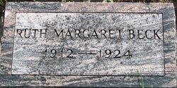 Ruth Margaret Beck