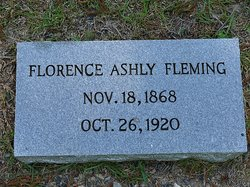 Florence Elizabeth <i>Ashley</i> Fleming