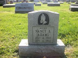 Nancy Brown <i>McIntosh</i> Adams