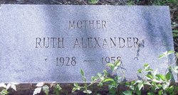 Ruth Alice <i>Weems</i> Alexander