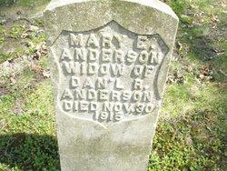Mary E. <i>Roberts-Perkins</i> Anderson