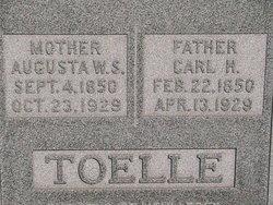 Augusta <i>Lambrecht</i> Toelle