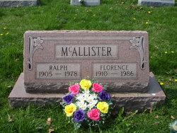 Florence <i>Carney</i> McAllister