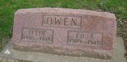 Edward T Ed Owen