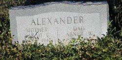 Sarah Catherine Kate <i>Collins</i> Alexander